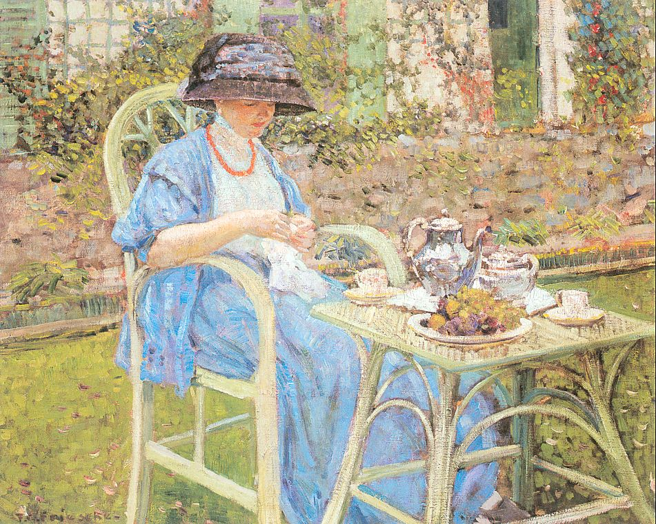 Americans in giverny for Tarbell family foundation