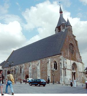 L'église d'Illiers-Combray